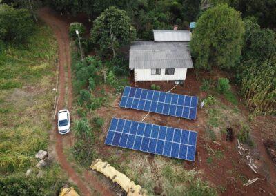 Gerador Fotovoltaico 14,52 kWp.