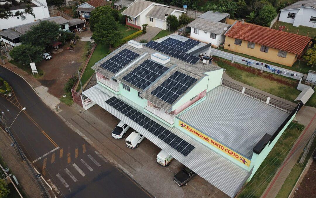 Supermercado Ponto Certo – 32,72 kWp.
