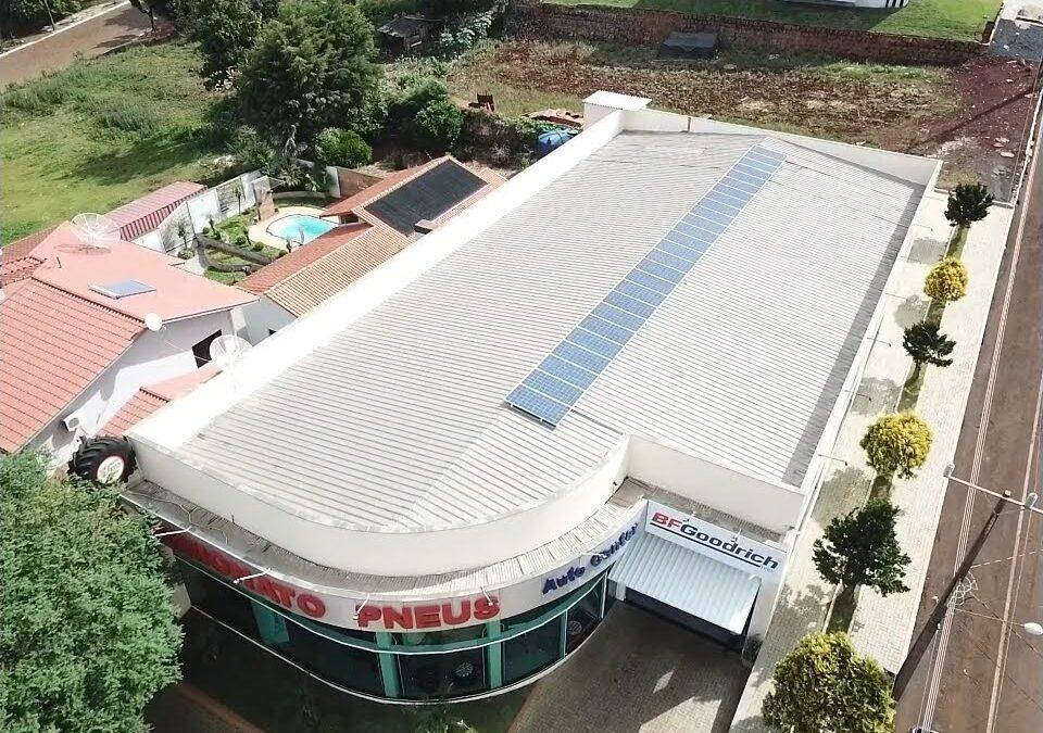 Simionato Pneus – 8,58 kWp