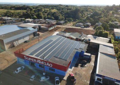 Supermercado Amigão – 72,16 kWp