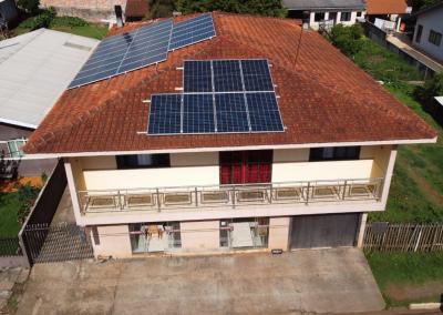 Gerador fotovoltaico – 11,2 kWp