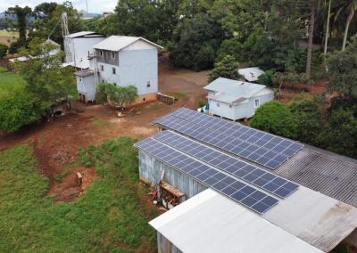 Gerador fotovoltaico – 27,54 kWp