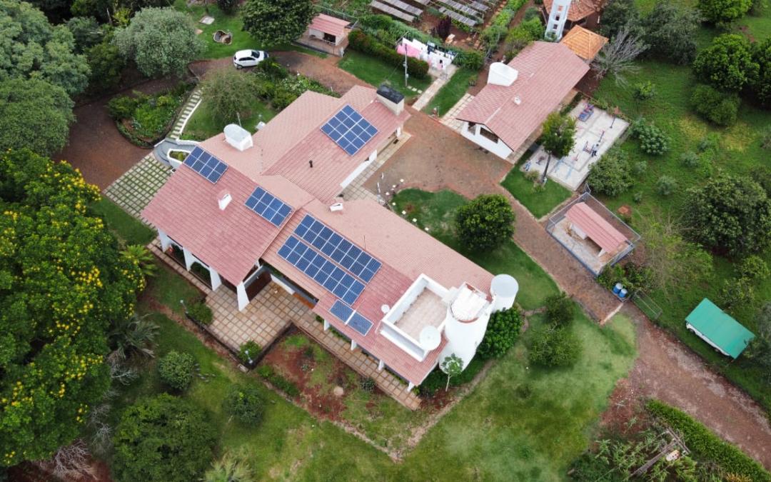 Gerador fotovoltaico – 12,96 kWp