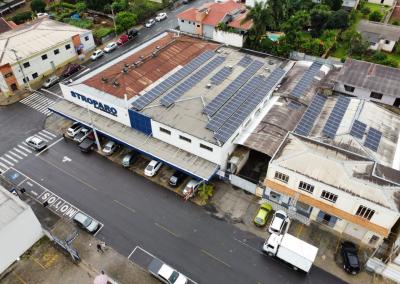 Supermercado Stroparo – 69,7 kWp