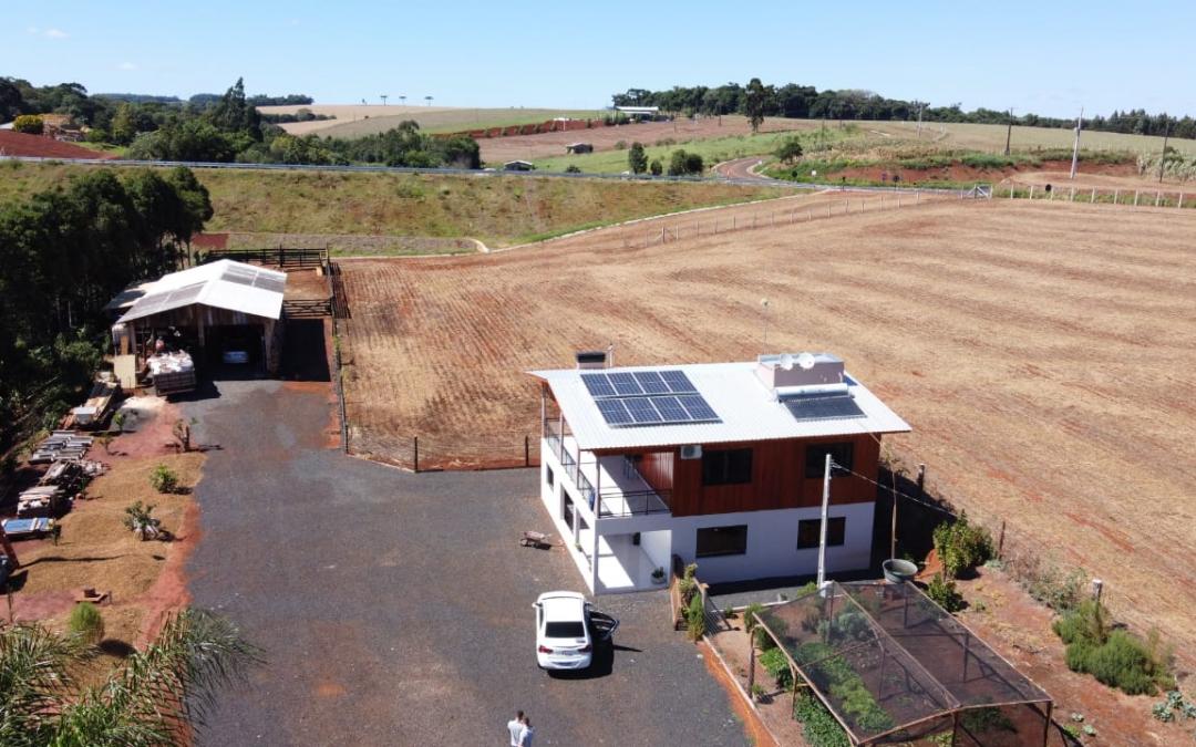 Gerador fotovoltaico – 3,2 kWp