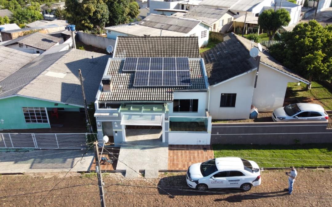 Gerador fotovoltaico – 3,6 kWp