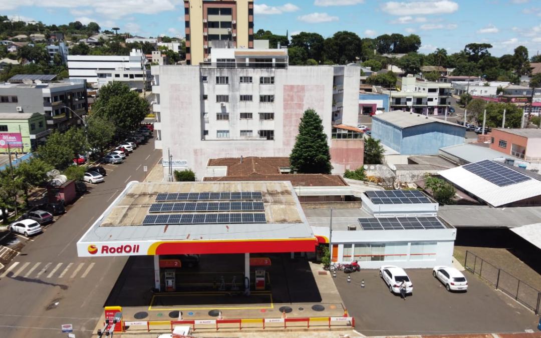 Posto União – 21,87 kWp