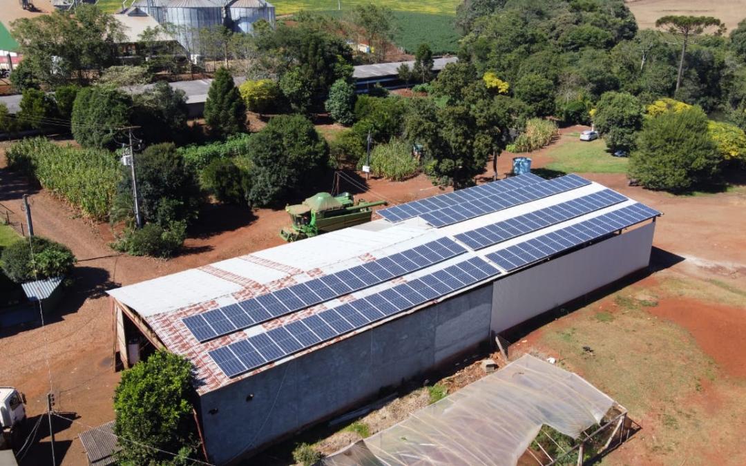 Gerador fotovoltaico – 43,20 kWp