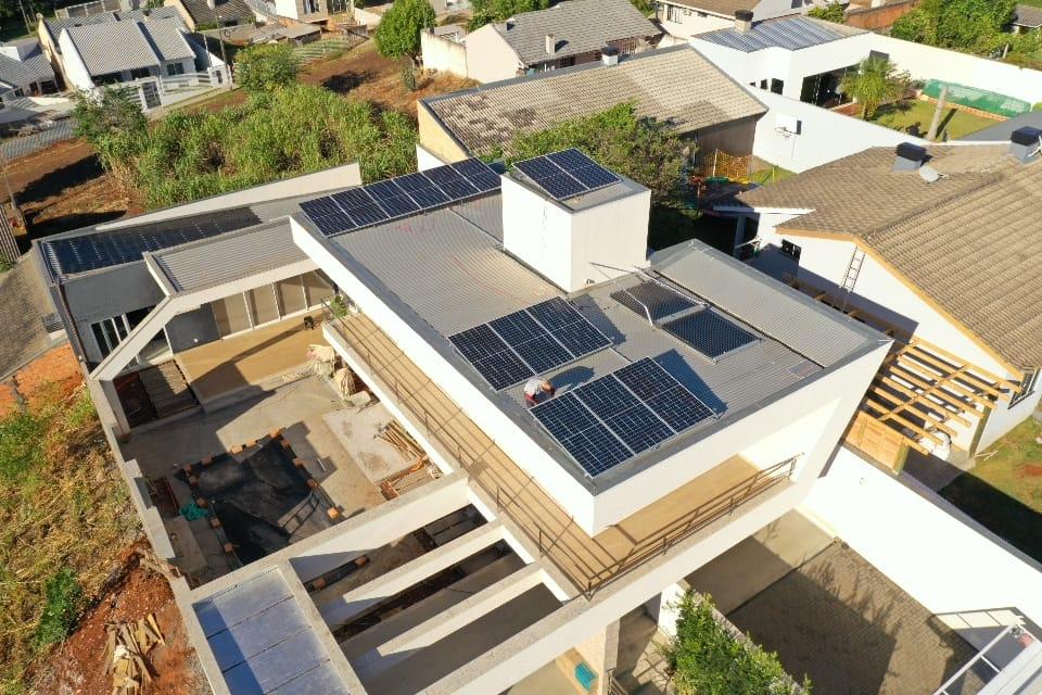 Gerador fotovoltaico – 5,60 kWp