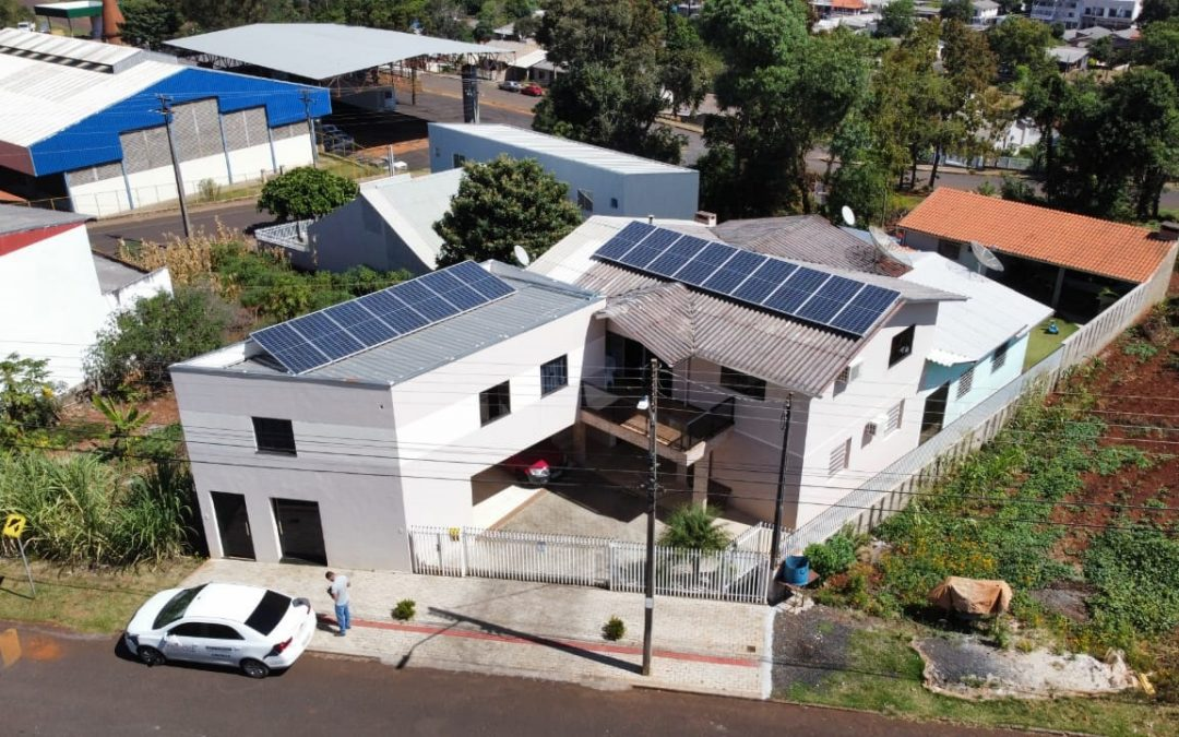 Gerador fotovoltaico – 6,40 kWp