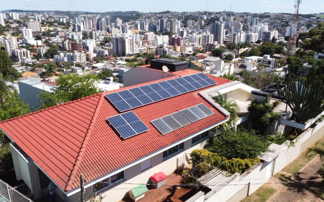 Gerador fotovoltaico – 5,46 kWp