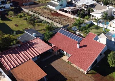 Gerador fotovoltaico – 4,62 kWp