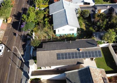 Gerador fotovoltaico – 5,85 kWp