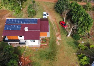 Gerador Fotovoltaico – 6,3 kWp – Bituruna – Pr