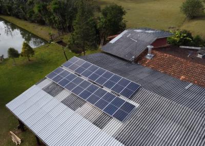 Gerador Fotovoltaico – 7,98 kWp – Bituruna – Pr