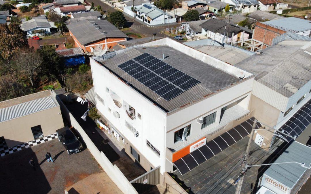 Gerador Fotovoltaico – 8,10 kWp – Chopinzinho – Pr