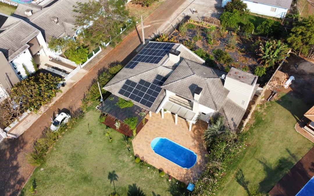 Gerador Fotovoltaico –  14 kWp – Alagado de São Jorge – Pr