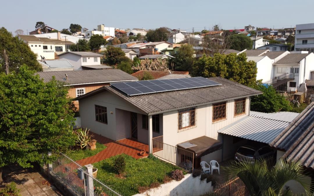Gerador Fotovoltaico – 4,05 kWp – Pato Branco – Pr